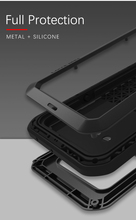 Gorilla glas film gift) LIEFDE MEI Metalen Waterdichte Case Voor LG G8s ThinQ Shockproof Cover Voor LG G8s ThinQ 6.2 inch cover capa