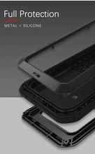 גורילה זכוכית סרט מתנה) אהבת מיי מתכת עמיד למים מקרה עבור LG G8s ThinQ עמיד הלם כיסוי עבור LG G8s ThinQ 6.2 אינץ כיסוי קאפה