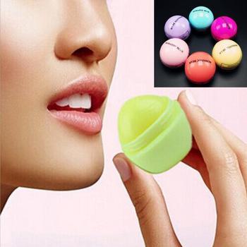 ( 6pcs/lot) Romantic Bear Baby Lips Lip Balm Fruit Flavour  Long lasting Nutritious Lipbalm Baume A Levre Maquiagem Balm
