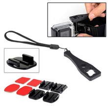 Remarkable 15pcs Basic Outdoor Sports Accessories Bundle Kit for Gopro Sports Camera Tools