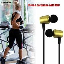 Dpower Magnética Sweatproof Auriculares Estéreo Bluetooth 4.2 Inalámbrico En La Oreja Los Auriculares con Micrófono Auriculares de Metal Venta Caliente