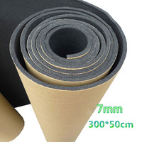 EE Support Hot Sales 7mm Car Auto Sound Proofing Deadening Vehicle Insulation Close Cell Foam Automobile