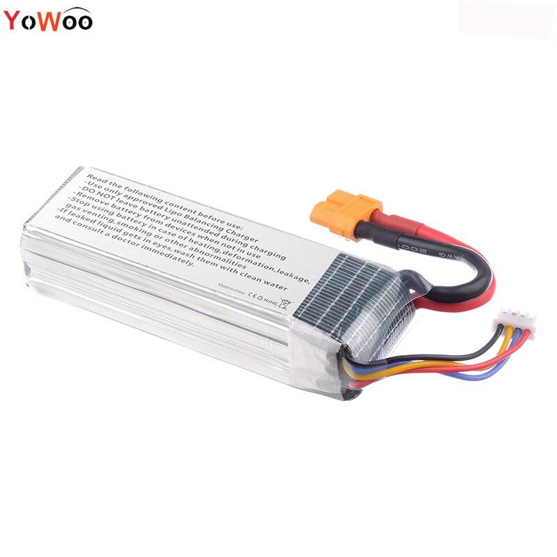 yowoo power 3S lipo batería 11.1 v 4200mAh 35C rc helicóptero - Juguetes con control remoto - foto 4