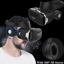 Vr shinecon 4.0 случае виртуальной реальности Очки Googles VR гарнитура/Очки с 3D IMAX наушники для iPhone Sony Huawei глаз Путешествия