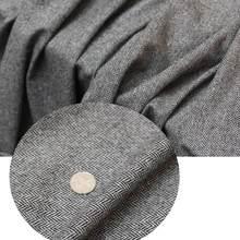 Leo & lin tecido diy lã adornada pano espinha de peixe tecido retalhos (1 metro)