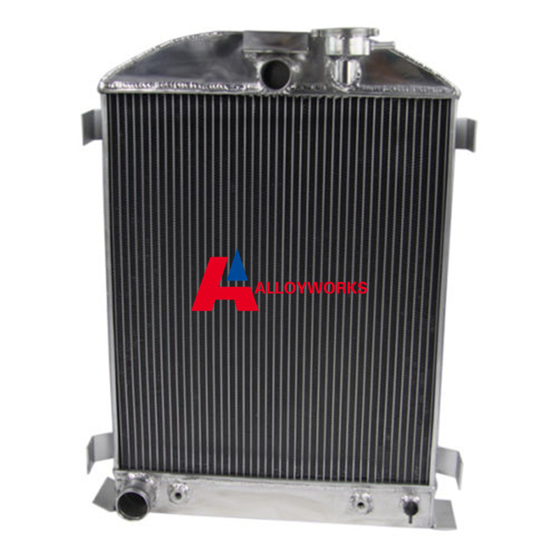 SALE 33 34 Ford Aluminum Radiator for FORD V8 Engine w