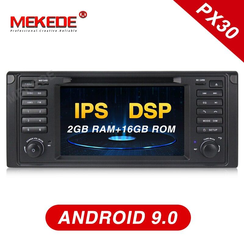 MEKEDE IPS ecran 2 Din Auto Radio Android 9 pour BMW série 5/X5 E53 E39 CANBUS voiture multimédia vidéo lecteur DVD Navigation GPS