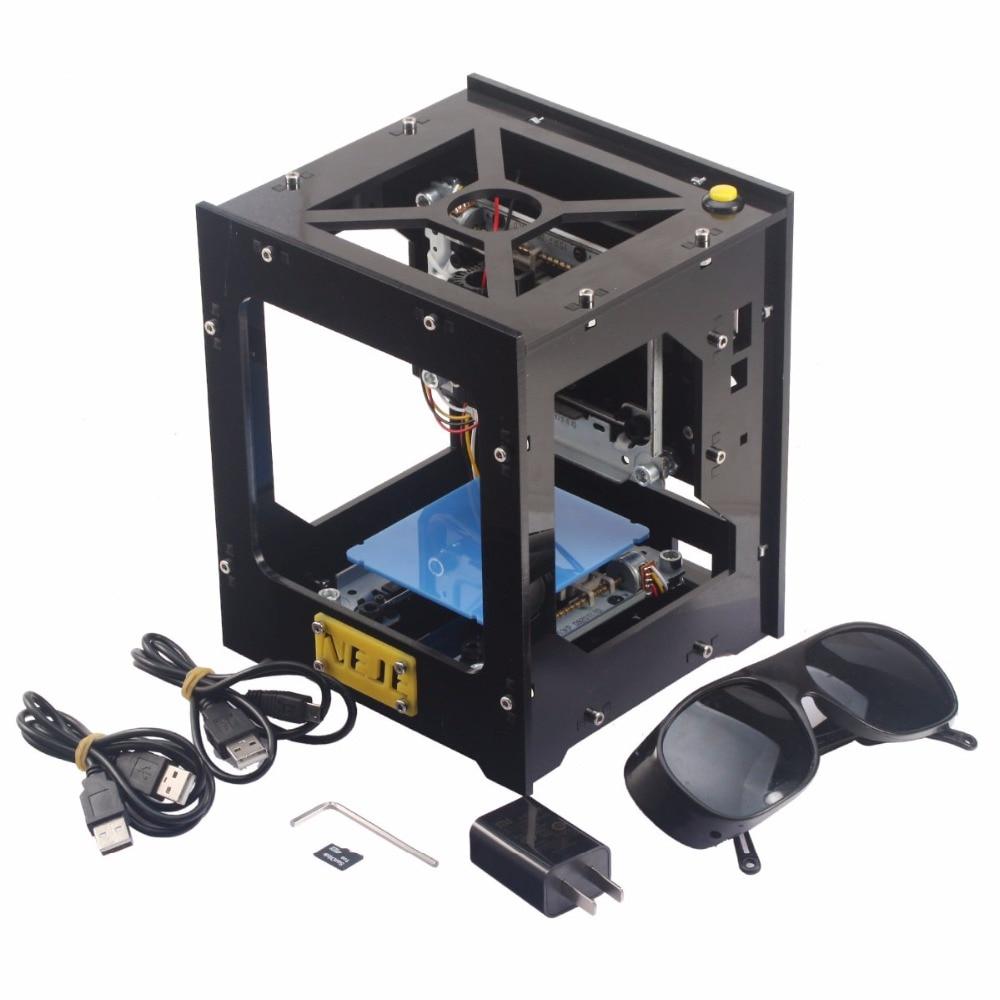 NEJE DK-8 Pro-5 500mW USB DIY Engraver Print Laser Engraving Machine neje dk 5 pro 500mw high power violet light laser head diy laser machine parts laser diode laser tube for engraver