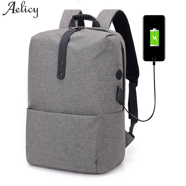 7f7374ad99 Aelicy Laptop Backpack Male USB Business Multi-functional Anti theft  Backpack for Men Mochila Travel Backpacks School Bags