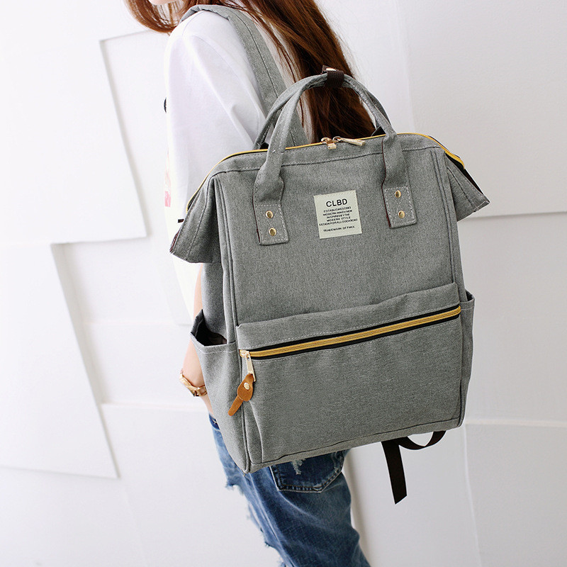 2018 Brand fashion women backpack shoulder Bag School bags for teenager casual solid backpack school Mochila rucksack women backpack shoulder bag school bags for teenager casual solid backpack school mochila rucksack black color