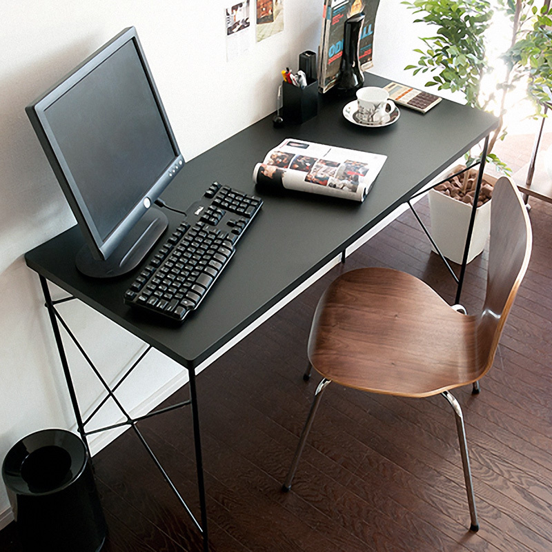 Popular office desks black buy cheap office desks black lots from china office desks black - Cheap black desks ...