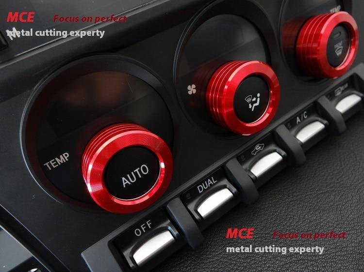 A/C Climate Control Switch Cover 3pcs Interior Trim Toyota 86 Scion FR S  Subaru BRZ FRS GT86
