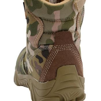 Botas militares de seguridad para hombre calzado de deporte de escalada resistente al agua para