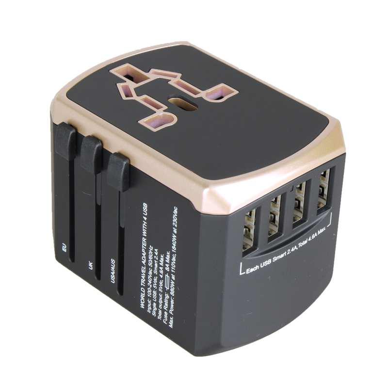 US $13.86 26% OFF|Universal Power Travel Adapter International Power on