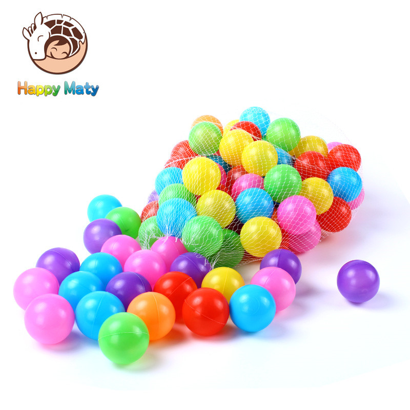 50 հատ կամ 100 գունագեղ պլաստիկ գնդակներ - Արտաքին զվարճանք և սպորտ - Լուսանկար 4