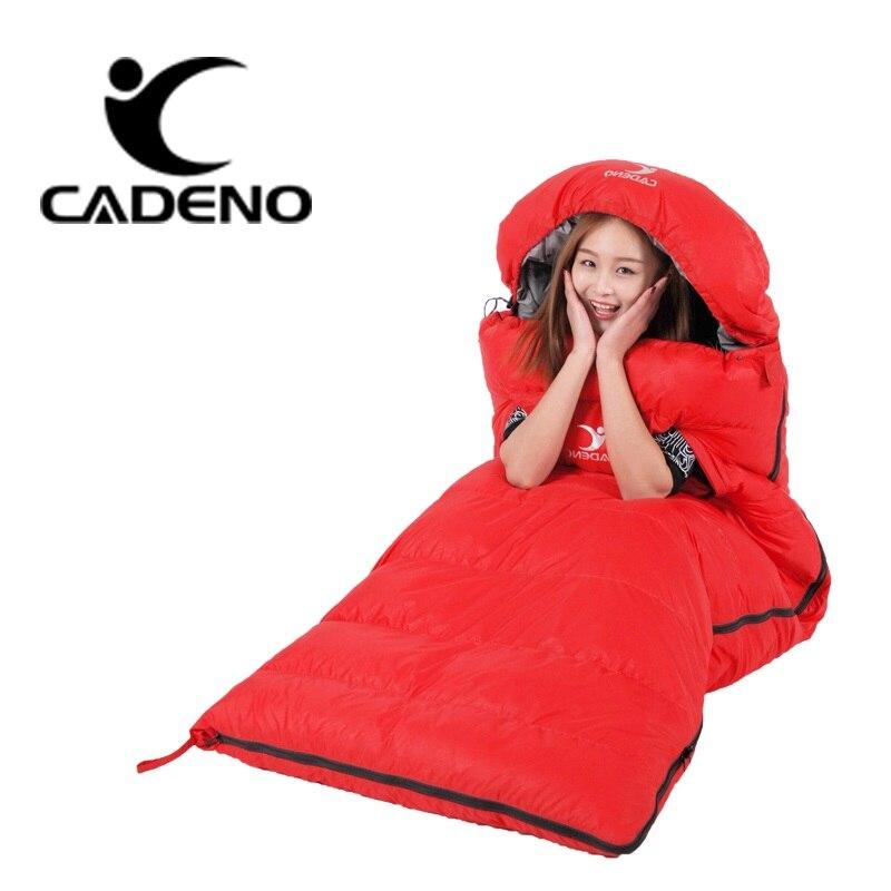 超軽量寝袋キャンプ 4 シーズン寝袋冬の寝袋ダウン封筒型キャンプアクセサリー  グループ上の スポーツ & エンターテイメント からの 寝袋 の中 3