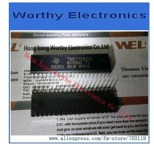 TMS77C82 8-BIT MICROCONTROLLER IC TMS77C82NL