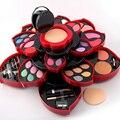 2 Opciones de Calidad Superior Pro 46 Colores Completos de Maquillaje Kit Blush Delineador de Ojos Lápiz Labial Paleta de Maquillaje Colección 3D Colección Para regalo