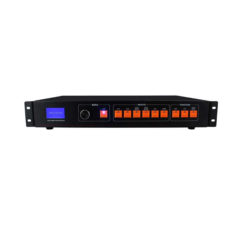 free shipping wholesale hdmi video processor component video switcher lvp506 for rgb led p10 led display module free shipping led display controller led video processor usb video processor ams lvp613 compar vdwall lvp515 with audio output