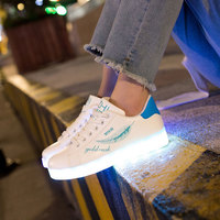 Light Up Shoes Sneakers with Illumination Led Shoes Glowing Sneakers with Luminous Sole Children's Shoes for Girls Boys