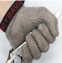 Whitting davis stainless steel metal mesh steel chain glove meat cut glvoe butcher glove цена
