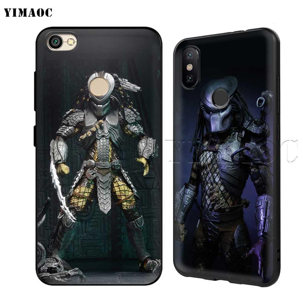 YIMAOC Borg Verloren Predator Weiche TPU Fall für Xiao mi Red mi mi Hinweis MAX 3 6 6A 7 mi 6 mi 8 9 se a1 a2 Pro Lite gehen pocophone f1