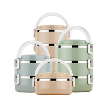 Portable 700ml-2800ml Lunch Box Food Storage Container For Kids School,Picnic,Camping Leakproof Bento With Bowl