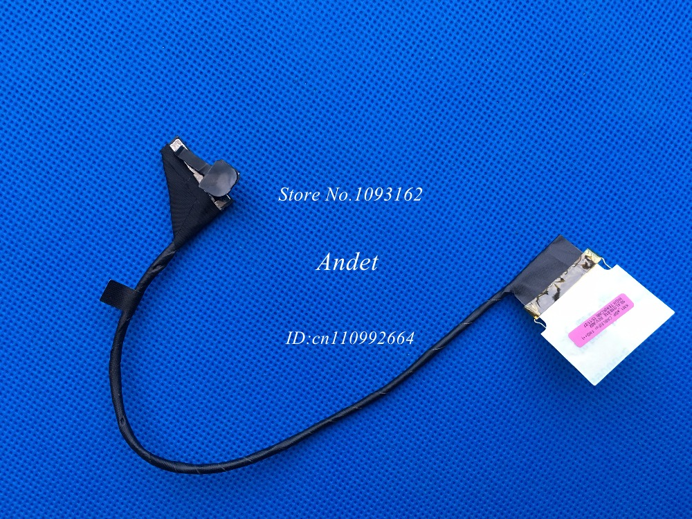 New Original EDP Cable for Lenovo ThinkPad T540P W540 W541 FHD++ 2880x1620 LVDS LCD Screen Video Cable 04X5541 50.4LO10.012 red sin w edp spr