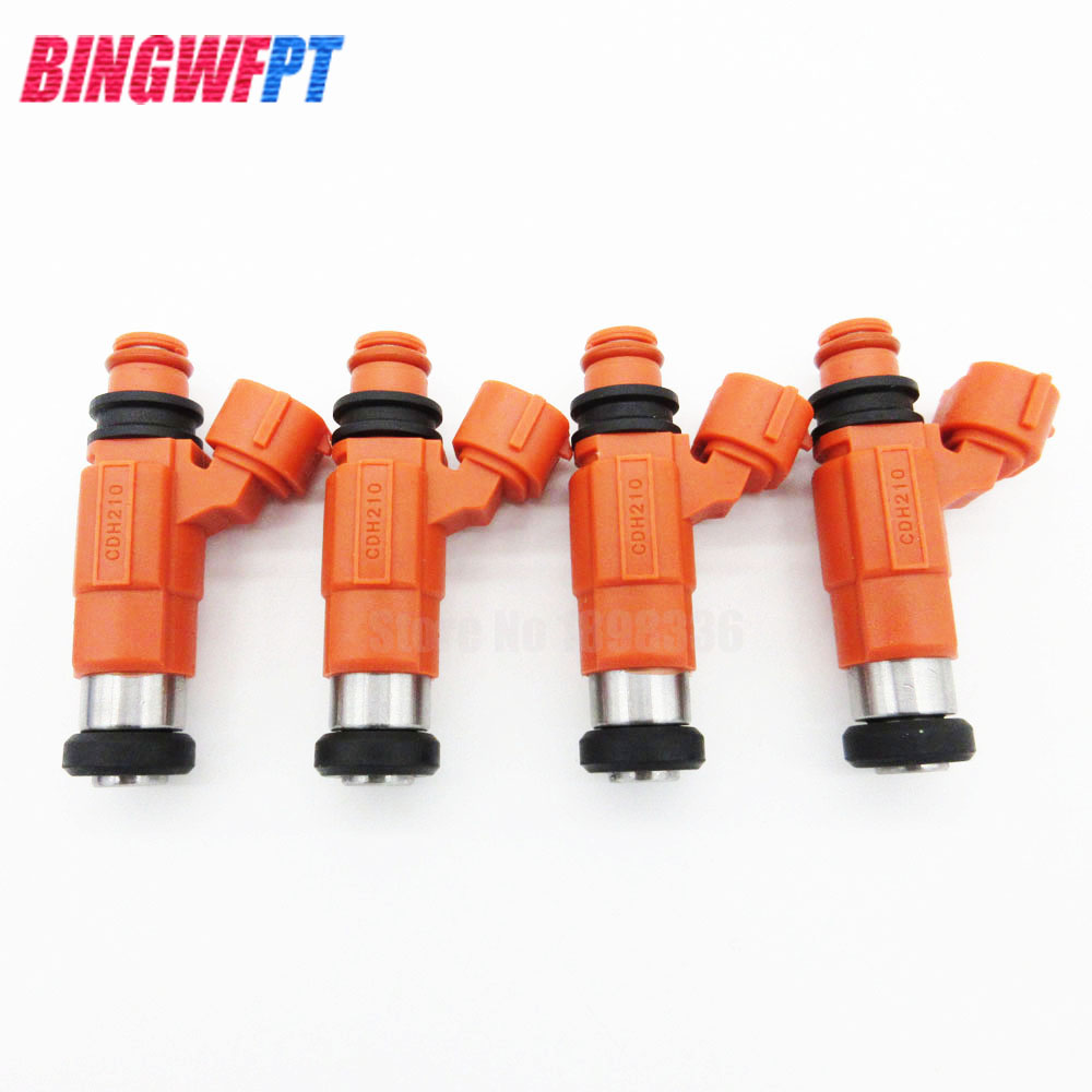 4PCS Fuel Injector CDH210 For Yamaha Outboard 115HP for Mitsubishi Eclipse Galant Mirage For Chevrolet Dodge INP771 842-12223