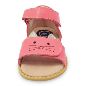 Image 2 - Girls Sandals New Fashion Children Shoes Toddler  Kids Boys Genuine Leather Closed Toes Summer baby style free shipping
