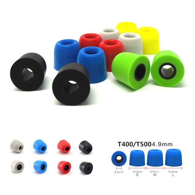 ANJIRUI T400 M 12.5mm 4.9mm Caliber Ear Pads/cap T400 memory foam eartips T500 for in ear earphone  tips sponge