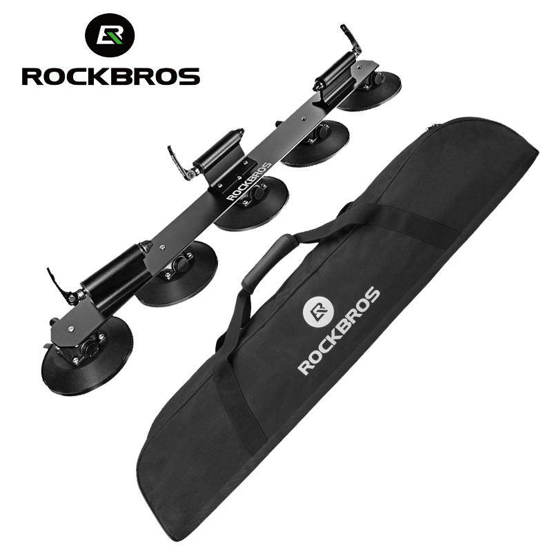ROCKBROS 45L Bicycle Roof Top Rack Storage Bag Waterproof Portable MTB Road Bike Rack Storage Bags