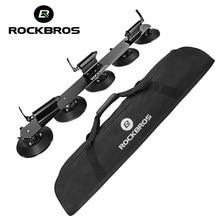 ROCKBROS 45L Bisiklet Çatı Üst Raf saklama çantası Su Geçirmez Taşınabilir MTB Yol Bisikleti Rafı saklama çantası s Açık balıkçı çantası 91x25 cm