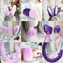 Hoop-Tail Hair-Accessories Neko Ears-Hair Rabbit Foot-Ring Horse-Bracelet Lolita Adorable