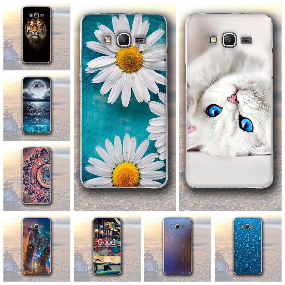TPU Paint Soft Silicone Case For Samsung Galaxy Grand Prime G530 G530h G530H G531 Back Cover For Samsung A3 A5 2016 J1 J2 J5 J7