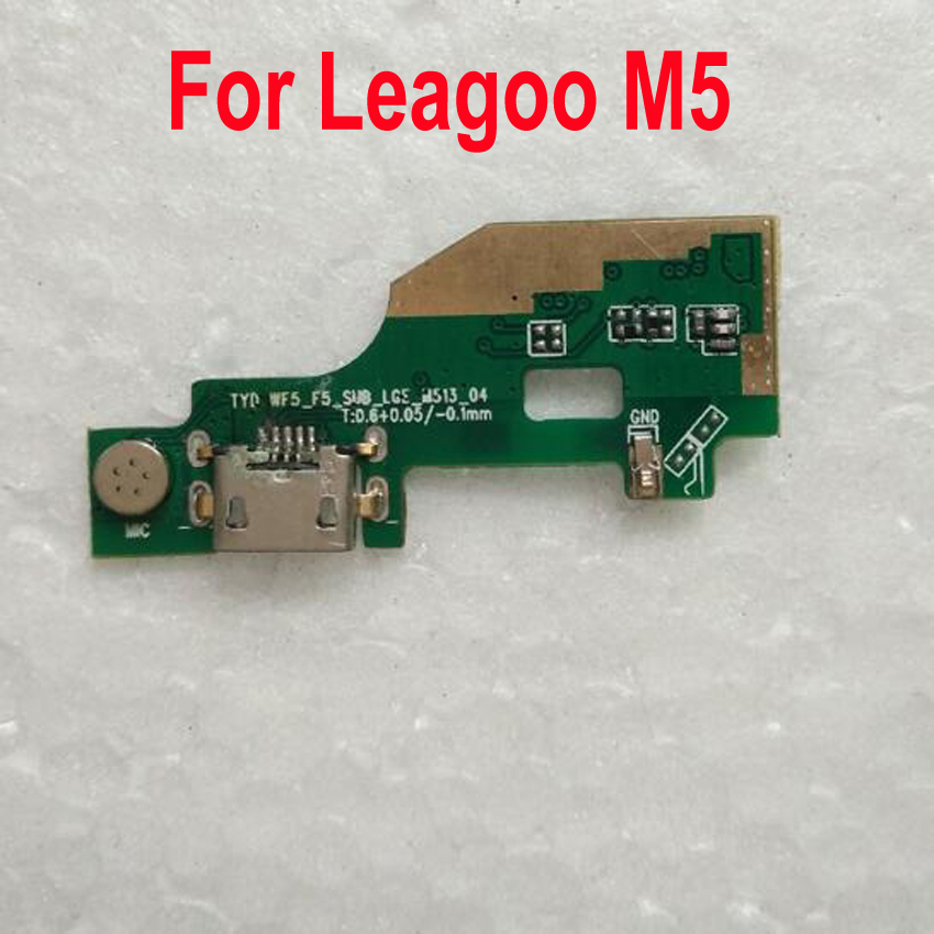 Original Best Working Charging Port Dock USB Connector Data MIC Microphone Charge Board Flex Cable For Leagoo M5 Phone Parts