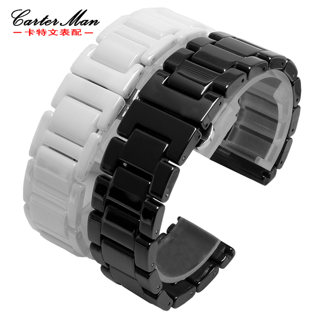 ceramic Polished watchbands for smart watches wrist band Fit Gear S2 S3 S4 moto