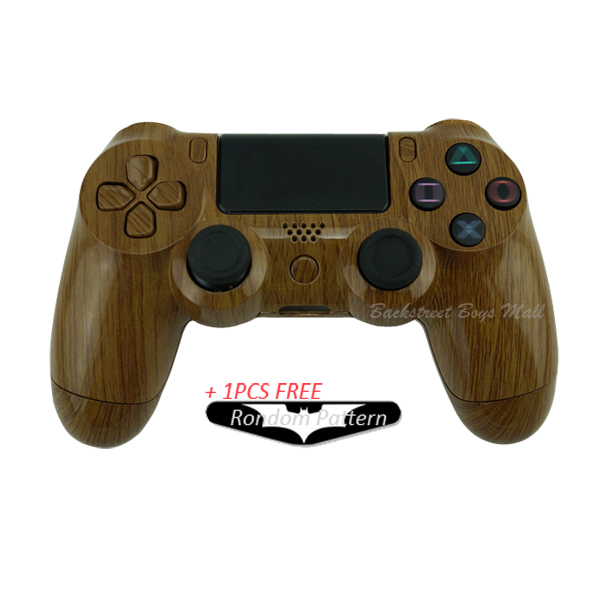 Buy custom hydro dipped wood grain shell for Housse manette ps4