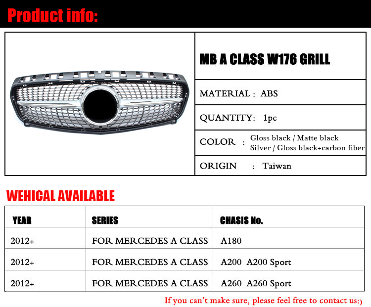 High Quality front grill