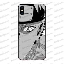 Naruto pain Black TPU Soft Rubber Phone Cover For iPhone