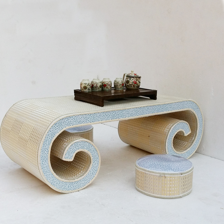 Tremendous Teaside Bamboo End Table And Tatami Room Tables Coffee Floor Interior Design Ideas Tzicisoteloinfo