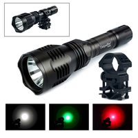 UniqueFire HS 802 Cree XPE Led Flashlight 1 Mode 3W Aluminum Alloy Lamp Torch Power By