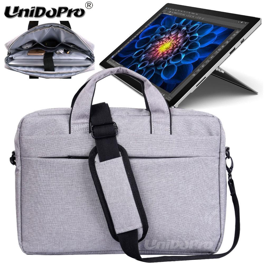 UNIDOPRO Waterproof Messenger Shoulder Bag Case for Microsoft Surface Pro 3 i3 i5 i7 Pro 4 128GB Tablet Sleeve Cover megoo surface pro 4 case sleeve bag cover with handle pocket briefcase for xiaomi air 12 5 microsoft new pro4 3 5 12 3