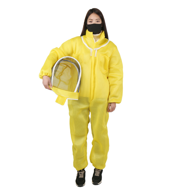 1PCS Bee Clothes Anti Beehive Complete Breathable Special Beekeeping Tools Bee Cap Prevent Bee Cover Siamese Beekeeping Anti Bee-in Insect Supplies from Home & Garden    1