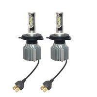 2pcs Lot Long Lasting Car LED Headlight H4 H7 V1 72W 8000LM Auto LED Headlamp 11