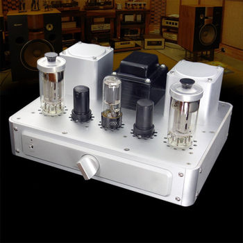 DIYERZONE Finished A500 Single-ended Class A Tube Power Amplifier FU50+6*8 8W+8W L11-51