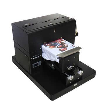 DTG Printer A4 Flatbed Printer For T-shirt PVC Card Phone Case Printer Plastic Multi color Printing Machine High Quality