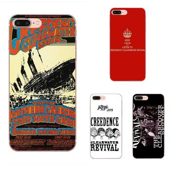Creedence Clearwater Revival For Xiaomi Redmi Mi Note 7 8 9 SE Pro Lite Go Play Painted Cover Colourful Style Design Phone Case image