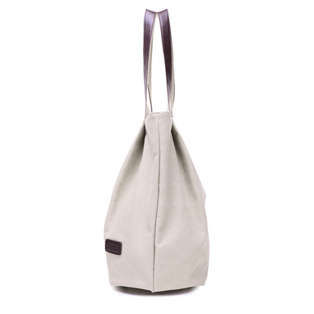 Large Capacity Shoulder Bags Casual Handbags Women Famous Brand Canvas Tote Shopping Bag 2
