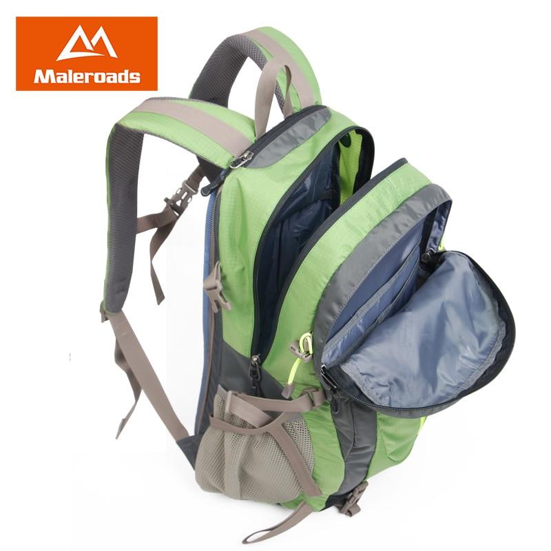 Maleroads mochila senderismo mochila viajes mochila deporte al aire libre mochila impermeable campamento paquete Trekk mochila hombres mujeres 40L - 3